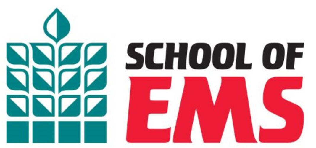 School of EMS Logo and Tag